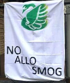 Un lenzuolo contro lo smog